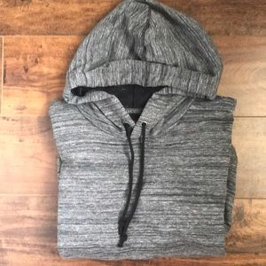 Stylish young men's hooded top